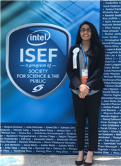 Sana Shareef Takes Third at Intel Competition
