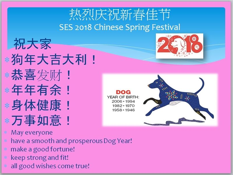 SES 2018 Chinese Spring Festival Celebration | Saint