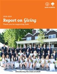 2018-19 Report on Giving