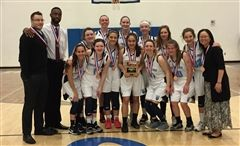 The Final Four Girls Basketball Team from last year