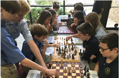 Dallas Logic School enjoys an Intramural Chess and Checkers Competition