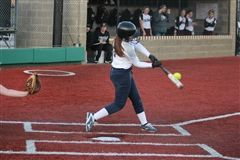 Kayleigh making a impact at the plate