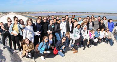 Class VIII France and Spain Trip 2017