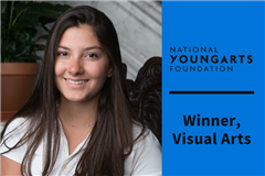 Headshot of Alexandra S. '21 who was named a National YoungArts Winner.