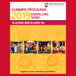 Summer Programs 2019 Catalog