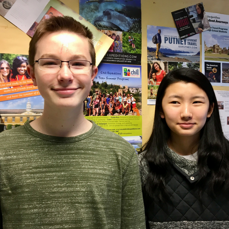 Two Students Awarded Scholarships for Language Study in India
