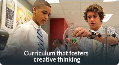 Curriculum that fosters Creative Thinking