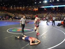 Hayden Sikora '20 Competes at FHSAA State Wrestling Tournament