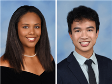 Keith Truong '19 and Nicole Whitaker '19 Earn National Fine Arts Medals