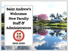 SA Welcomes New Faculty, Staff & Administrators in 2019-2020