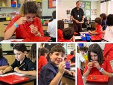 A Rock or a Fossil? Scots Kick off September with Fossil Lab in Lower School Science