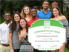 Saint Andrew's is Ranked the #1 Best Boarding School in Florida