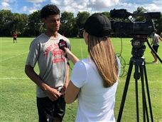 Matthew James '22 Named CBS 12 Athlete of the Week