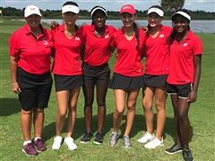 Varsity Girls Golf Win District Championship by 32 Strokes