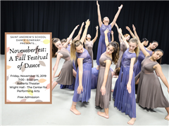 Join us for Novemberfest: A Fall Festival of Dance - Friday, November 15