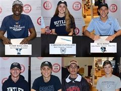 Seven Seniors Celebrated on National Signing Day