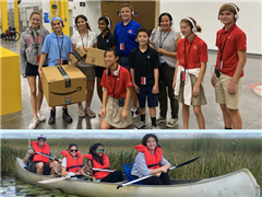 Discover the Fall Adventures of the MS Round Square Club - a Coastal Cleanup, Canoe Trip, and More!