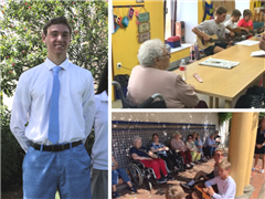 Andrés Fente '22 Demonstrates the Best of Mind, Body, and Spirit through his Community Service Work in Spain