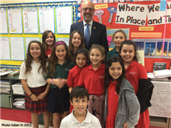 Grade 7 Students Reflect on Partnership with Rep. Ted Deutch in 2015 As They Celebrate the Passing of the Pact Act Four Years Later