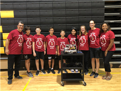 The Scots Bots MS Robotics Team Compete in FIRST Tech Challenge Tournament