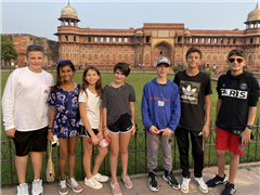 Saint Andrew's Middle School Returns to India for Round Square Conference