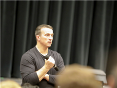 Former NBA Player Chris Herren Shares His Story of His Triumph Over Addiction with SAS