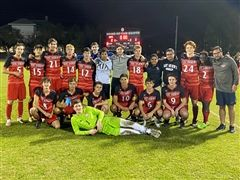 Boys Soccer Advances to Regional Quarterfinals