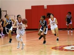 Varsity Girls Basketball Advances to Regional Semifinal
