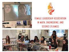 Upper School Club FLAMES Lights the Way for Female Students in STEM