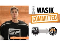 Dominik Wasik '20 Commits to Premiere Junior-A Hockey Club in British Columbia