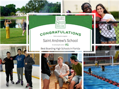 Saint Andrew's Named Best Boarding School in Florida - Two Years in a Row!