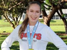 Ellie Tymorek '21 Named Cross Country Co-Runner of the Year