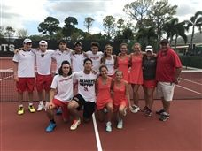 Boys and Girls Tennis Claim Regional Championship Titles