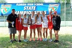 Girls Tennis Claims Second Straight State Championship Title