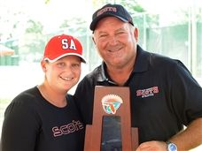 Reid Rafter '85 Named Florida Girls Tennis Class 1A Coach of the Year