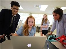 "Students Collaborate for In-Class ""Escape Room"" Experience"