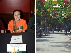 Lexi Castellano '16 spends summer in Vietnam, teaching and learning