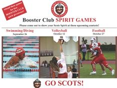 Booster Club Spirit Games and Senior Nights