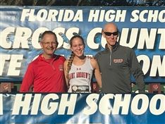 Ellie Tymorek '21 Finishes 15th at State Cross Country Championships