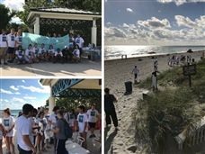 SA Community Gathers for Beach Clean-Up