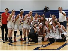 Varsity Girls Basketball Claims District Championship Title
