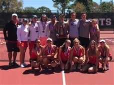 Boys and Girls Tennis Teams Win District Championship