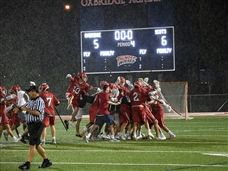 Boys Lacrosse Defeats Oxbridge Academy in Regional Quarterfinals