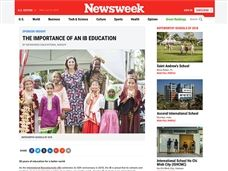 Newsweek IB Educational Insight Features Saint Andrew's School