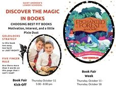 Discover the Magic in Books at the Lower School Book Fair