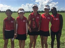 Varsity Girls Golf Claims District Title