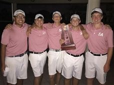 Varsity Boys Golf Claims District Title