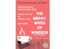 Fall in LUV with Modern Adaptation of Shakespeare's The Merry Wives of Windsor - November 9 - 10