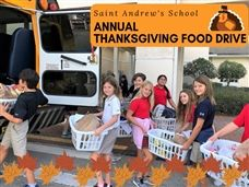 Scots Give Back Through Annual Thanksgiving Food Drive