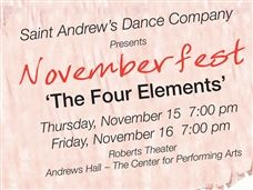 Why Walk When You Can Dance? Join us for Novemberfest - November 14 -15